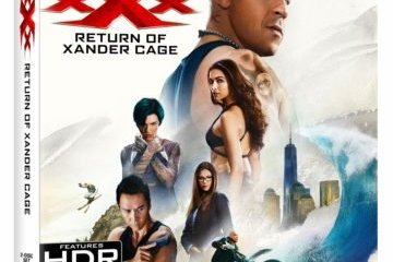 xXx: RETURN OF XANDER CAGE debuts May 16th on 4K Ultra HD/Blu-ray/DVD and on Digital HD May 2nd 7
