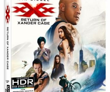 xXx: RETURN OF XANDER CAGE debuts May 16th on 4K Ultra HD/Blu-ray/DVD and on Digital HD May 2nd 19