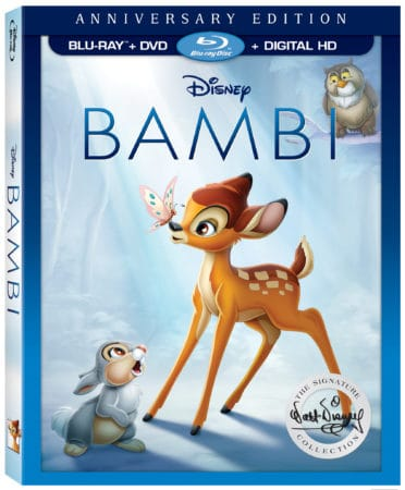 Disney's Bambi Signature Collection on Digital HD and Blu-ray May 23rd 1