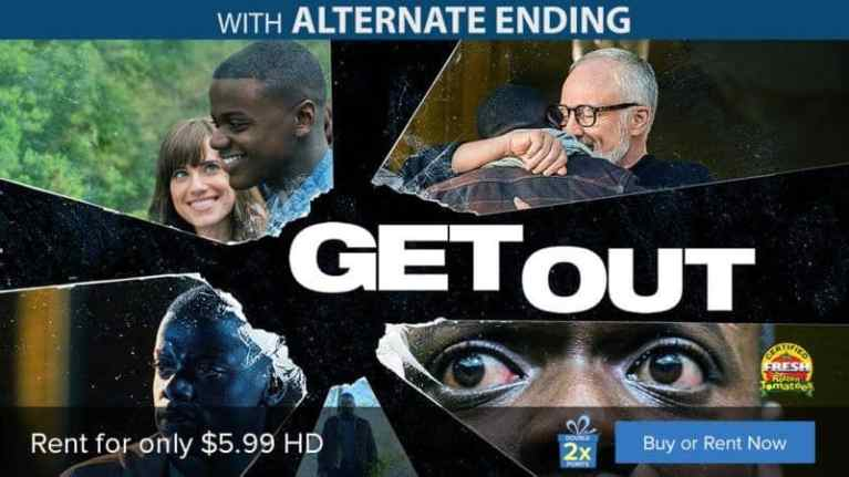 Top-Selling Thriller, GET OUT, Available To Rent On FandangoNOW 1