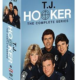 T.J. HOOKER: THE COMPLETE SERIES comes to DVD on July 18th 45