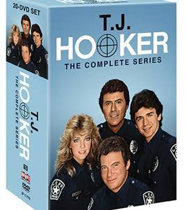 T.J. HOOKER: THE COMPLETE SERIES comes to DVD on July 18th 15