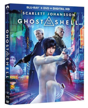 GHOST IN THE SHELL arrives on Blu-ray, 4K Ultra HD and Blu-ray 3D Combo Packs July 25th and Digital HD July 7th 3