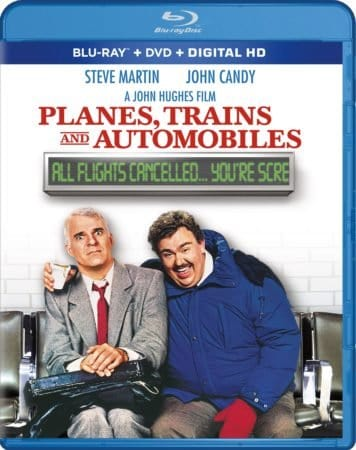 PLANES, TRAINS AND AUTOMOBILES makes an on-time arrival for its 30th anniversary on Blu-ray and DVD October 10th 1