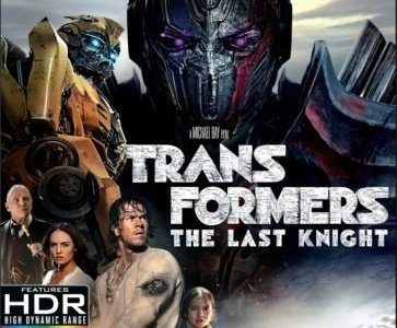 TRANSFORMERS: THE LAST KNIGHT lands on 4K Ultra HD, Blu-ray 3D and Blu-ray Combo Packs 9/26 and on Digital HD 9/12 39