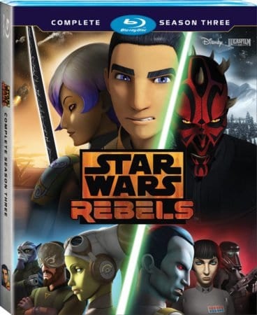 STAR WARS REBELS: THE COMPLETE SEASON THREE 3