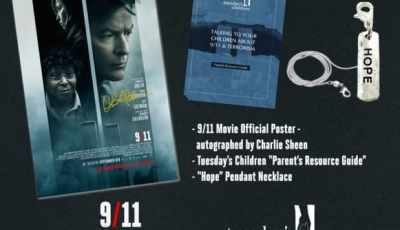 9/11 Contest: Win a Charlie Sheen signed poster! 5