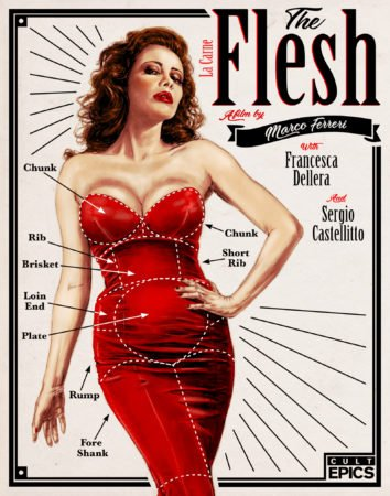 CULT EPICS is bringing you THE FLESH on September 12th 1