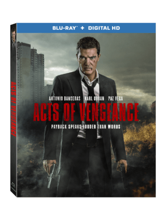 Acts of Vengeance arrives on Blu-ray™ (plus Digital HD), DVD, and Digital on November 28 3