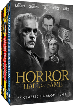 HORROR HALL OF FAME: 26 CLASSIC HORROR FILMS 1