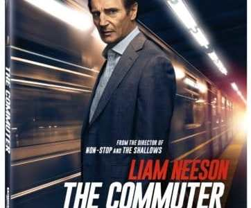 The Commuter Travels to Digital HD 4/3 and 4K, Blu-ray & DVD 4/17 19