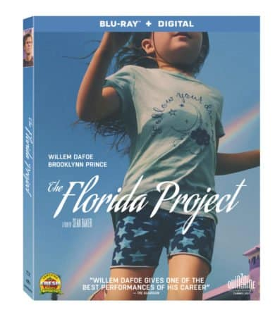 A24's THE FLORIDA PROJECT arrives on Blu-ray February 20th 1