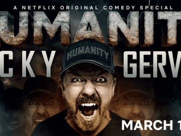 Ricky Gervais tackles tough topics in new Netflix clip 39
