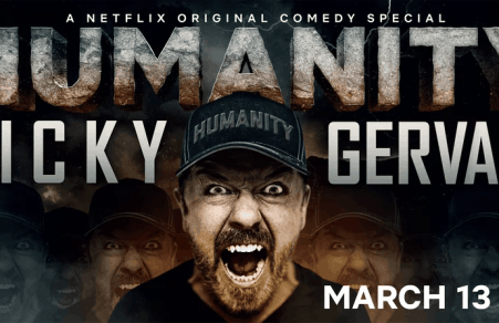 Ricky Gervais tackles tough topics in new Netflix clip 6