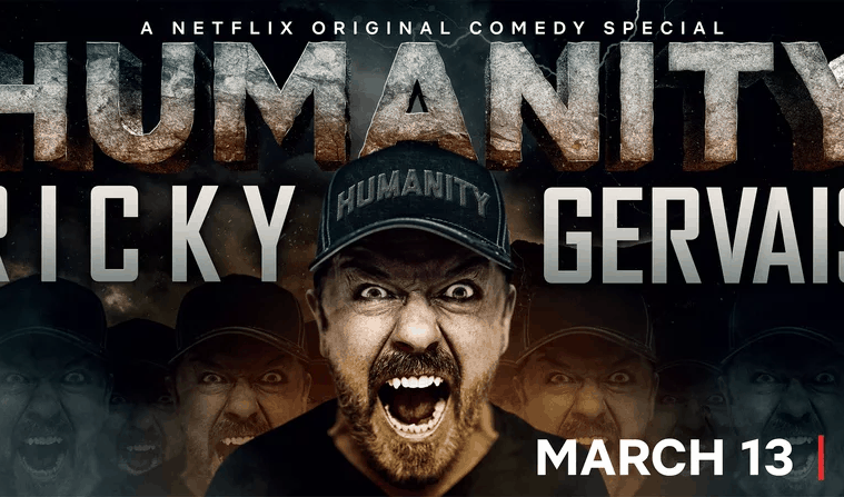 Ricky Gervais tackles tough topics in new Netflix clip 3