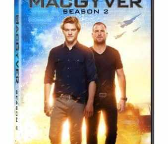 MacGyver: Season 2 arrives on DVD 9/18 21