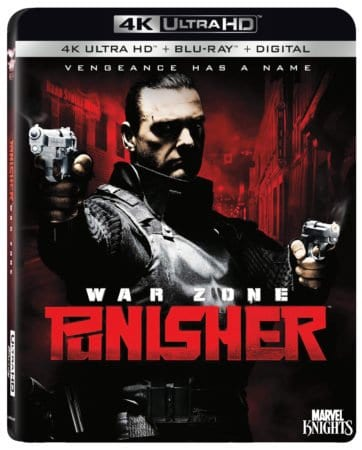 Punisher: War Zone on 4K Ultra HD™ Combo Pack (Plus Blu-ray™ and Digital) 9/25 1