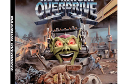 MAXIMUM OVERDRIVE on Blu-ray 10/23 19