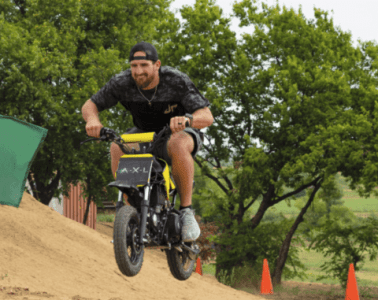 Dude Perfect Dirt Bike Battle | A.X.L. In Theaters August 24th 11