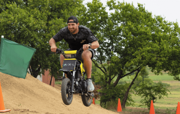 Dude Perfect Dirt Bike Battle | A.X.L. In Theaters August 24th 3