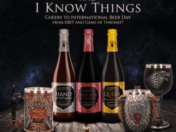 Celebrate International Beer Day with Game of Thrones Beer, Goblets and Steins! 44