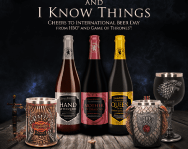 Celebrate International Beer Day with Game of Thrones Beer, Goblets and Steins! 7