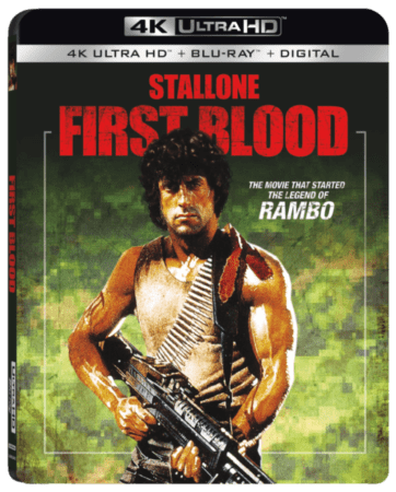 The Rambo Trilogy is coming to 4K from Lionsgate in November! 1