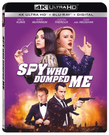 THE SPY WHO DUMPED ME on Digital 10/16 and 4K, Blu-ray & DVD 10/30 1