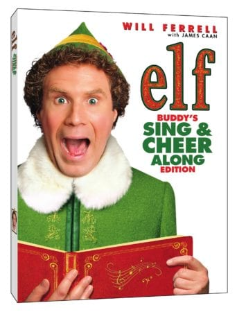 Elf 15th Anniversary Buddy's Sing & Cheer Along Edition arrives on DVD and Digital November 27th 1