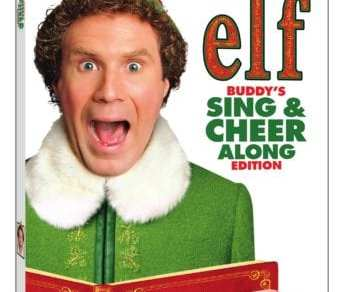 Elf 15th Anniversary Buddy's Sing & Cheer Along Edition arrives on DVD and Digital November 27th 10