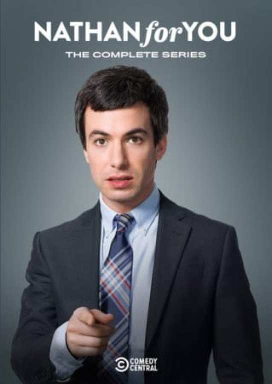 NATHAN FOR YOU: The Complete Series comes to DVD December 11th