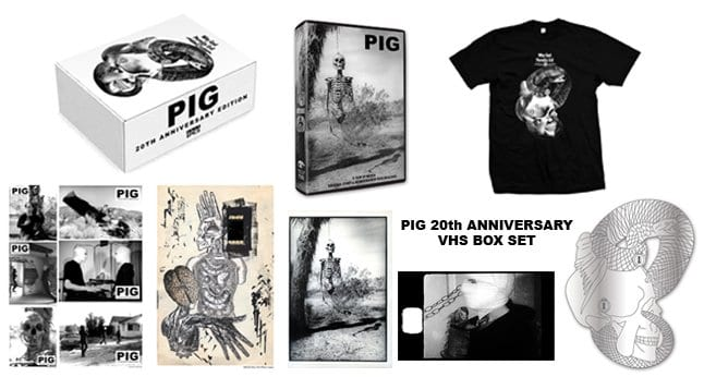 Pig gets a 20th anniversary release VHS. 1