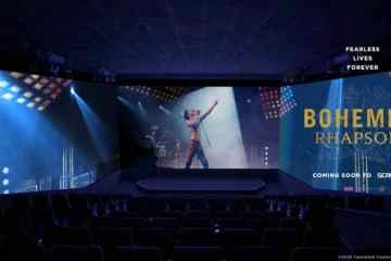 20th Century Fox's and Regency Enterprises' Epic Rock and Roll Bio-Pic Bohemian Rhapsody to be Released on ScreenX 8