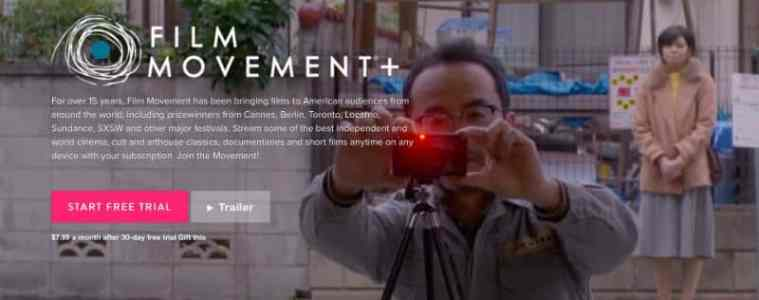 Pioneering Independent Distributor, Film Movement Launches New SVOD Service, FILM MOVEMENT PLUS 15