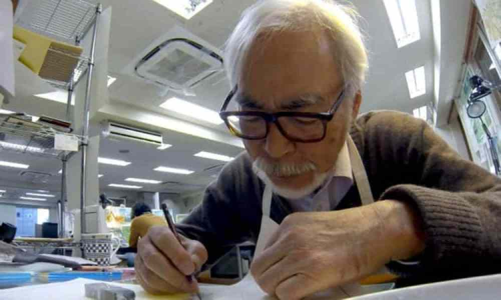 Never-Ending Man: Hayao Miyazaki | In U.S. Theaters December 2018 via GKIDS & Fathom Events