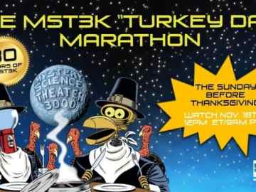 "Celebrate 30 years of Mystery Science Theater 3000 with the 2018 ""Turkey Day"" Marathon 34"