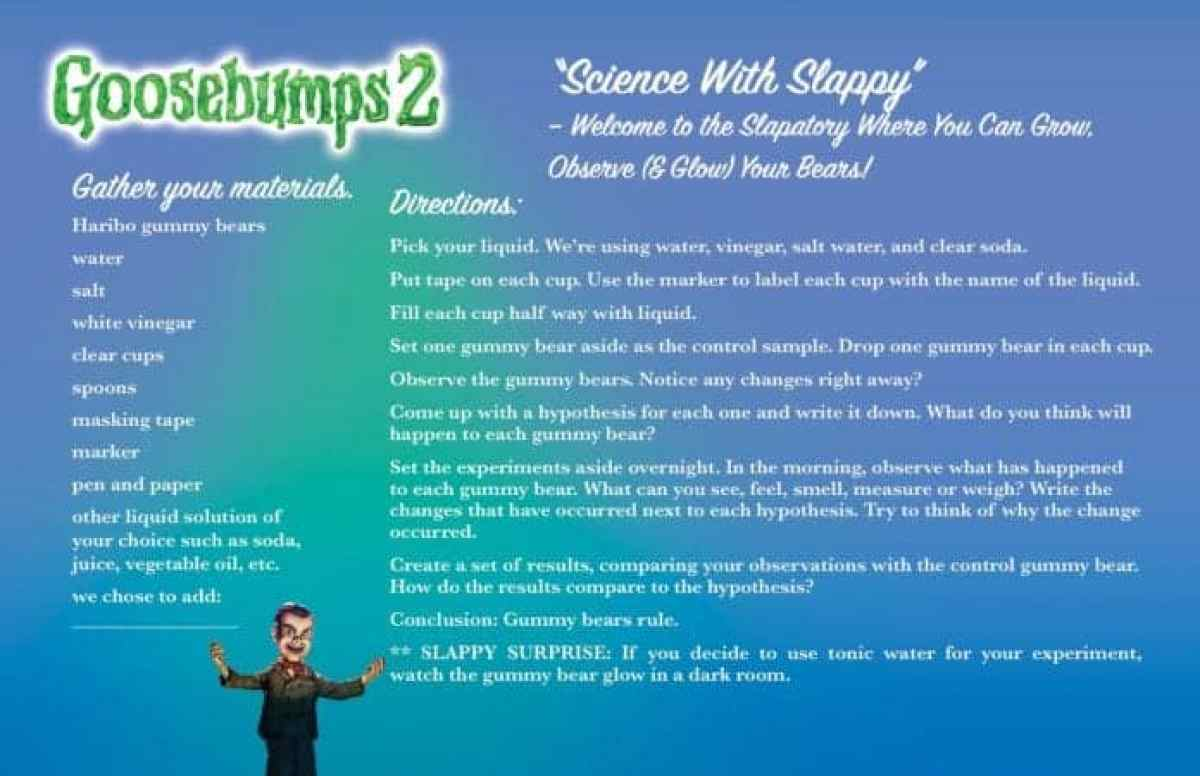 Goosebumps 2 is coming! Here is literally everything SONY saw fit to have posted. 5
