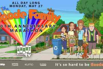 Shout! Factory TV Presents 'The Goode Family:' 10th Anniversary Marathon Livestream this Memorial Day 27