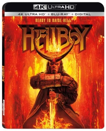 Hellboy arrives on Digital July 9 and on 4K Ultra HD Combo Pack, Blu-ray Combo Pack, DVD, and On Demand July 23 2
