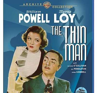 The Thin Man Warner Archive Blu-ray