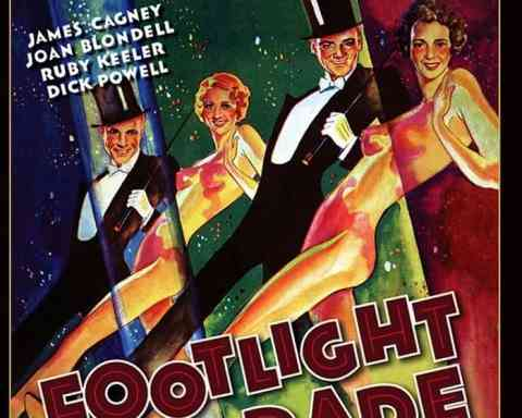 Footlight Parade blu ray