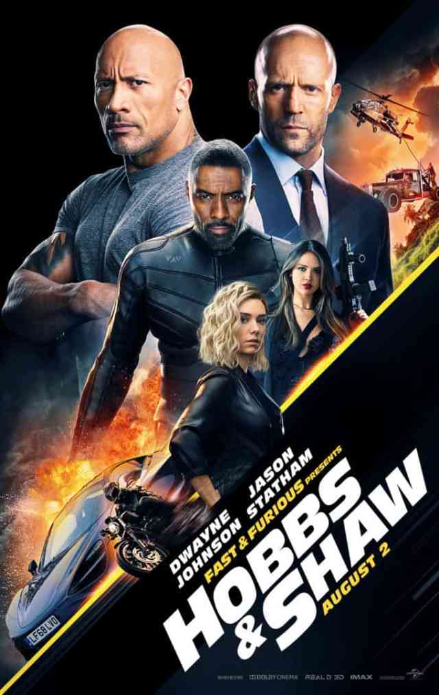 The Howell Family speeds with Hobbs & Shaw in 4DX [Review] 2