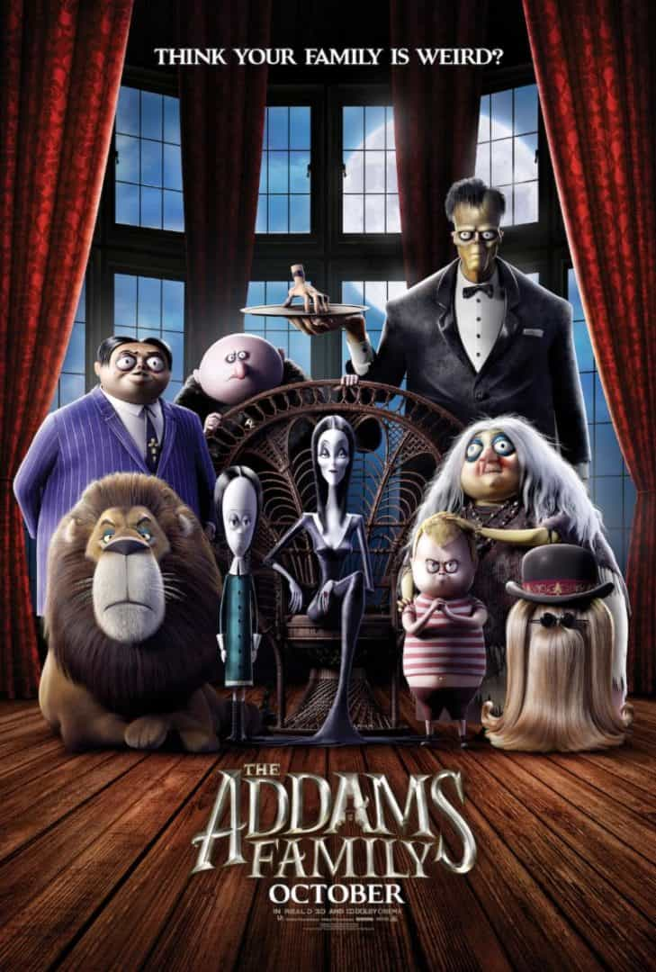 addams family in theaters