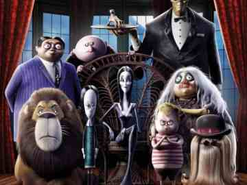 The Addams Family gets animated this October. [Trailer and Poster] 30
