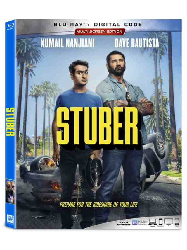 Take a wild ride with STUBER on Digital 10/1 & 4K UHD, Blu-ray and DVD 10/15 2