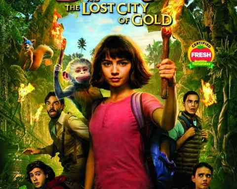 Dora and the Lost City of Gold Blu-ray