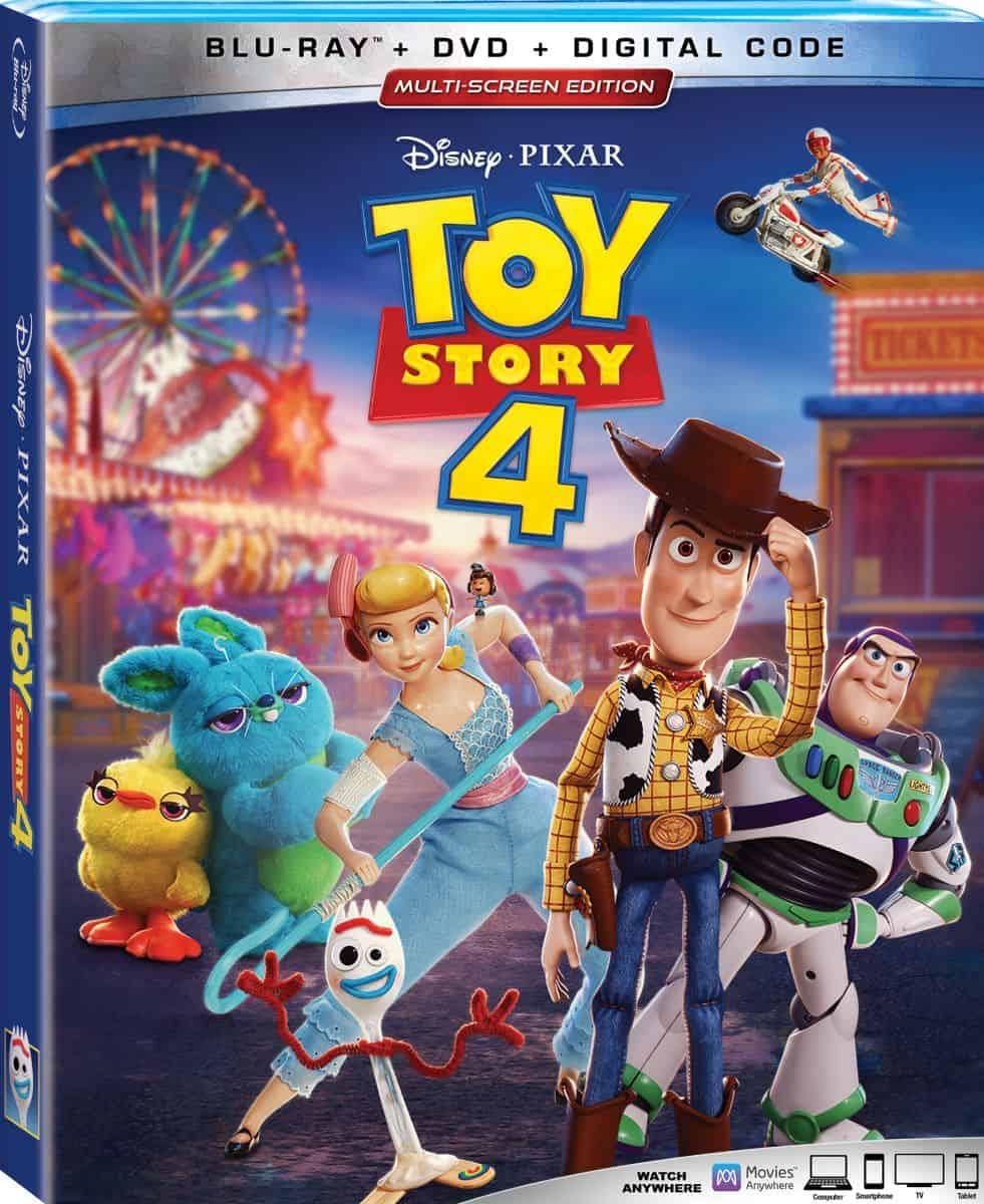 Toy Story 4 blu ray