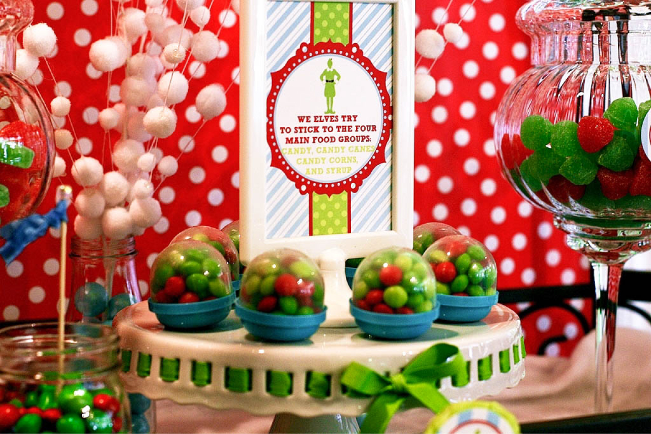 Buddy The Elf Themed Brunch Party By Deliciously Darling Events