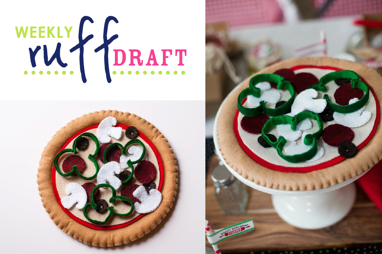 Ruff Draft Diy Felt Pizza Craft Pattern And Instructions
