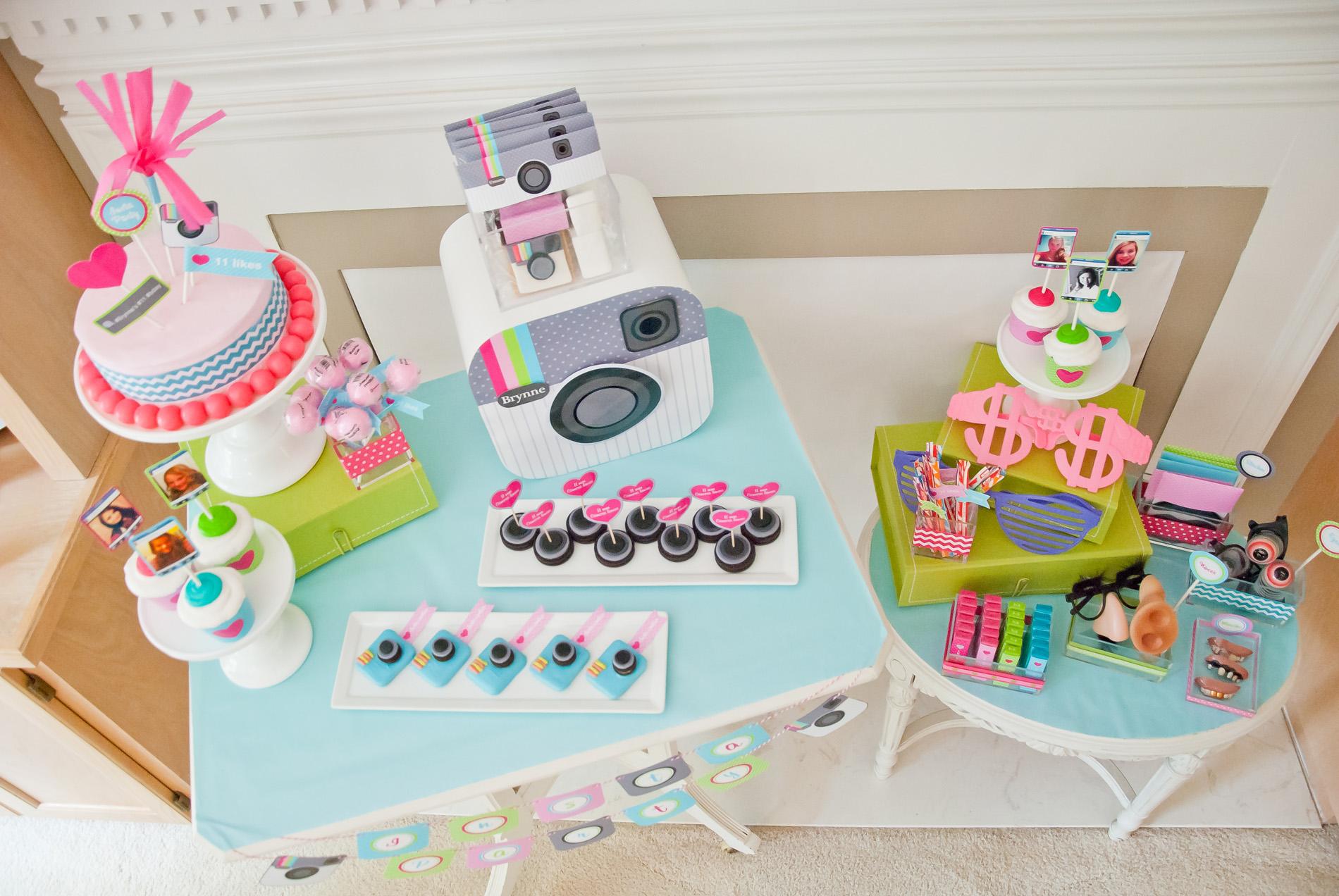 Tween Teen Insta Party Instragram Birthday Party